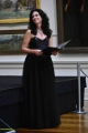 Tarita Botsman performing at Art Gallery of NSW